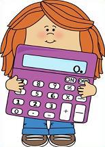 Free school. Calculator clipart child