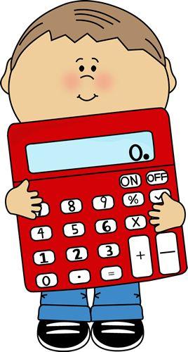 Microsoft cliparts zone . Calculator clipart child