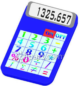 Calculator clipart colorful. Royalty free picture