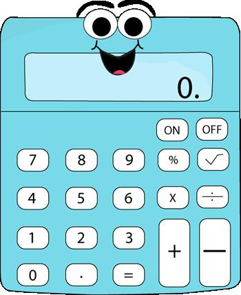 Calculator clipart cute. Cartoon http www mycutegraphics