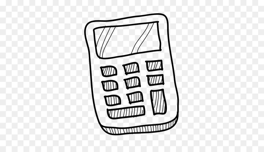Calculator clipart drawing. Line cartoon text