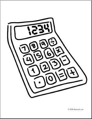 At getdrawings com free. Calculator clipart drawing