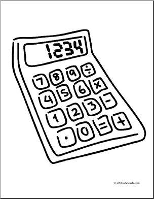 Calculator Drawing at GetDrawings