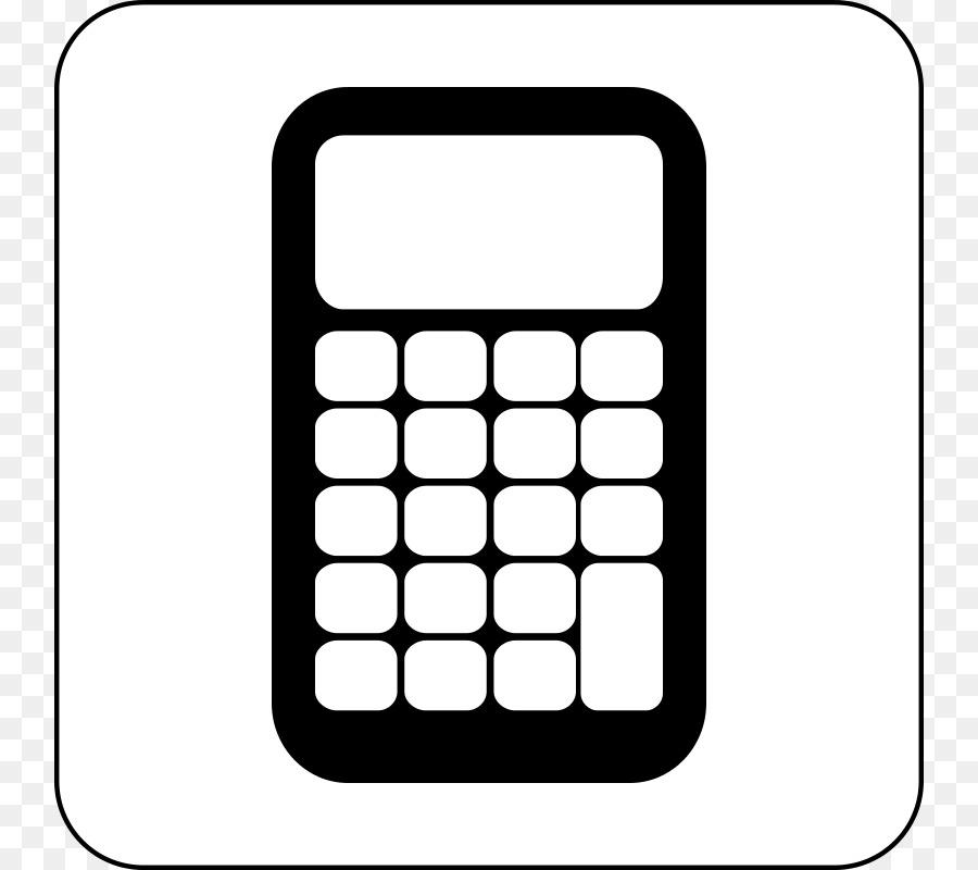 Scientific clip art cliparts. Calculator clipart equipment