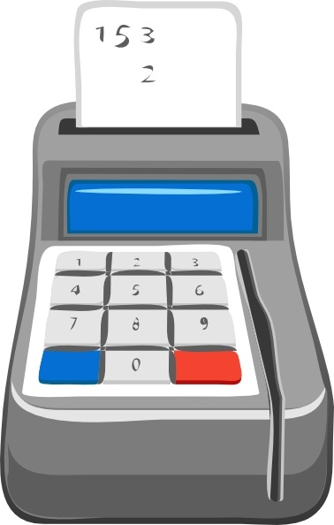 Clip art free vector. Calculator clipart equipment
