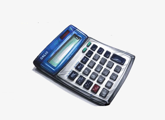 Calculator clipart finance. Cartoon afterwards electronic png