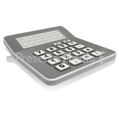 Calculator clipart finance. Stick figure custom presentation