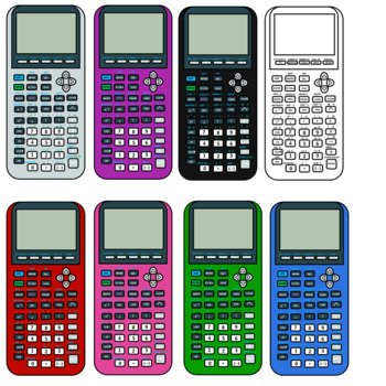Ti and keys by. Calculator clipart graphing