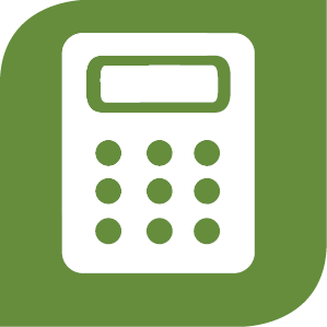 Calculator clipart green. Calculators trupartner credit union