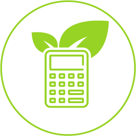Calculator clipart green. Savings go led international