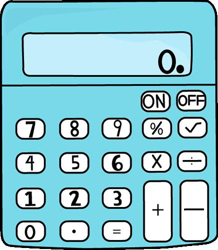 . Calculator clipart math calculator
