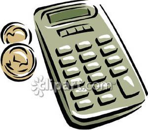 Freemoney Calculator Clipart