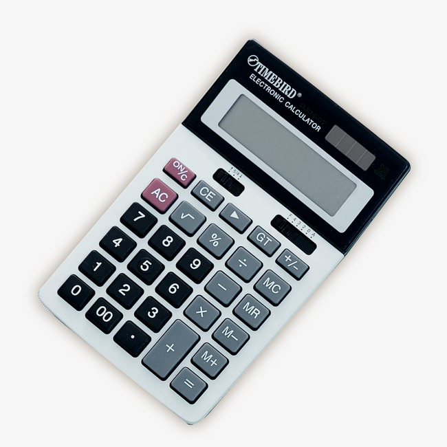 Calculator clipart office items. Keyboard supplies black png