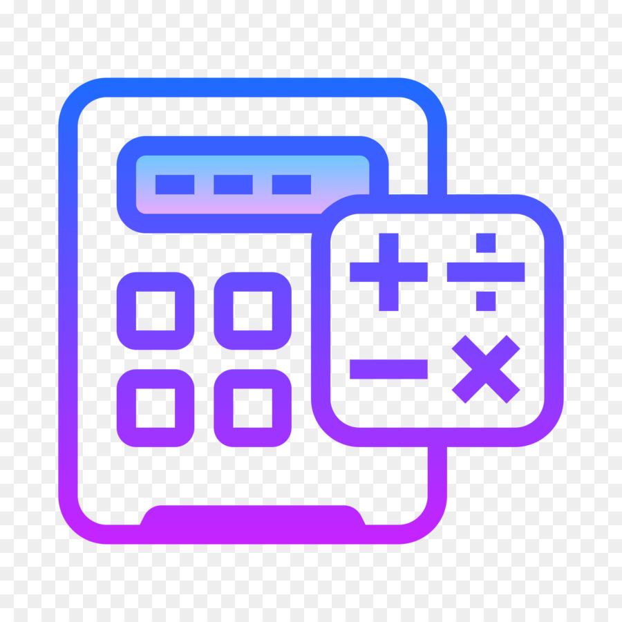 Computer icons symbol calculation. Calculator clipart purple