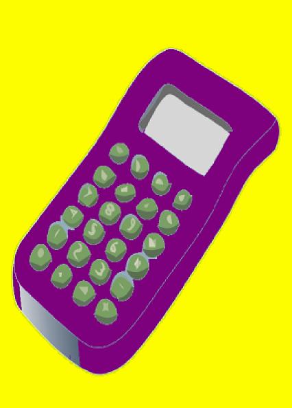 Clip art at clker. Calculator clipart purple