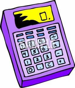 A Purple Calculator