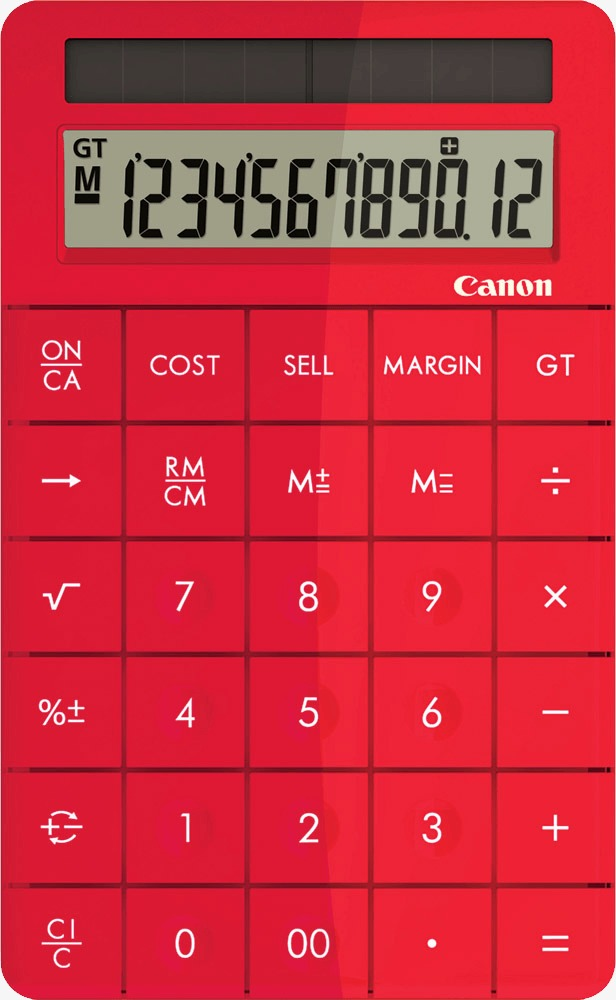 Computer digital png image. Calculator clipart red
