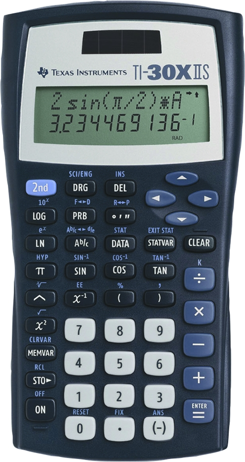 Calculator clipart scientific calculator. Letters ti x iis