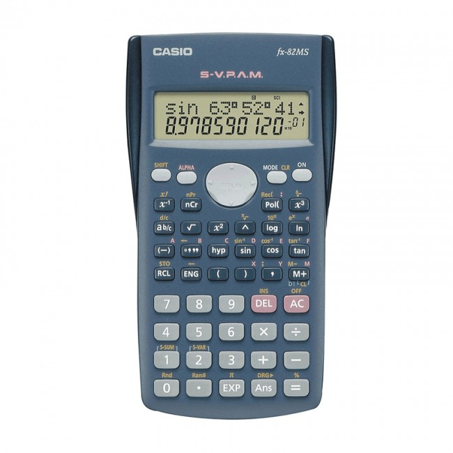 Calculator clipart scientific calculator. Casio shop fx ms