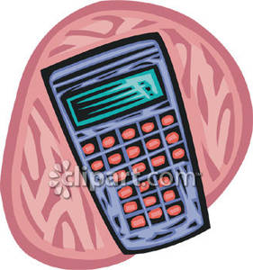 Calculator clipart scientific calculator. Blue royalty free picture