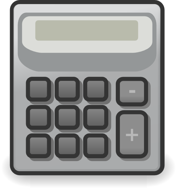 collection of transparent. Calculator clipart side view