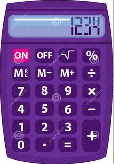 Calculator clipart side view.  a dea d
