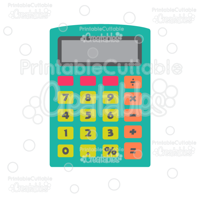 Calculator clipart silhouette. E fb free svgs