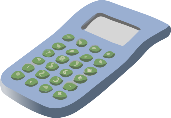 Simple Calculator Clip Art at Clker