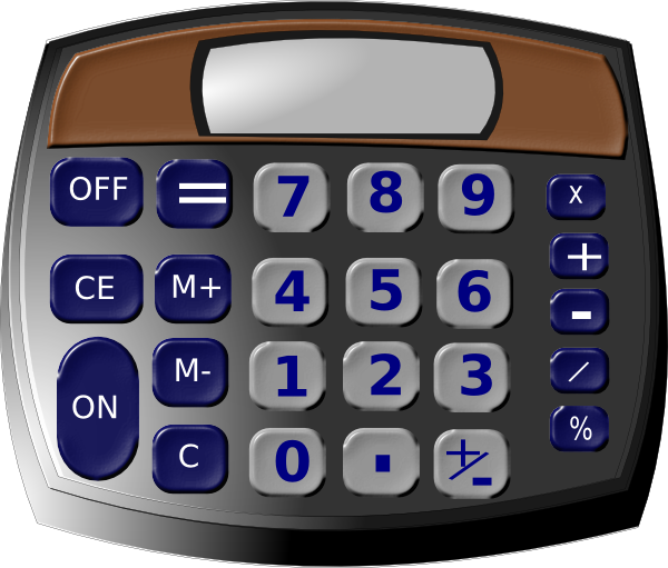 Calculator clipart solar calculator. Clip art at clker