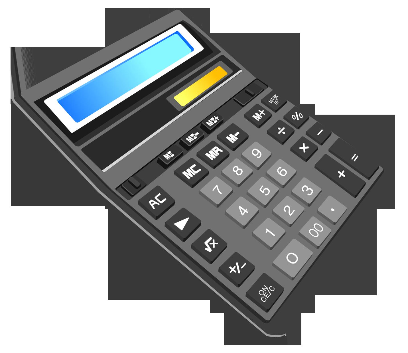 Calculator clipart solar calculator. Powered calculation scientific