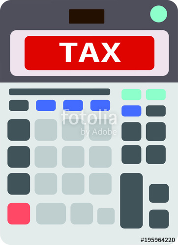 Japanese stock image and. Calculator clipart tax calculator