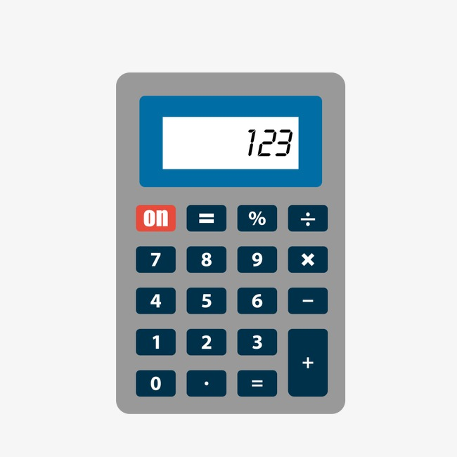 Cartoon compute png image. Calculator clipart technology