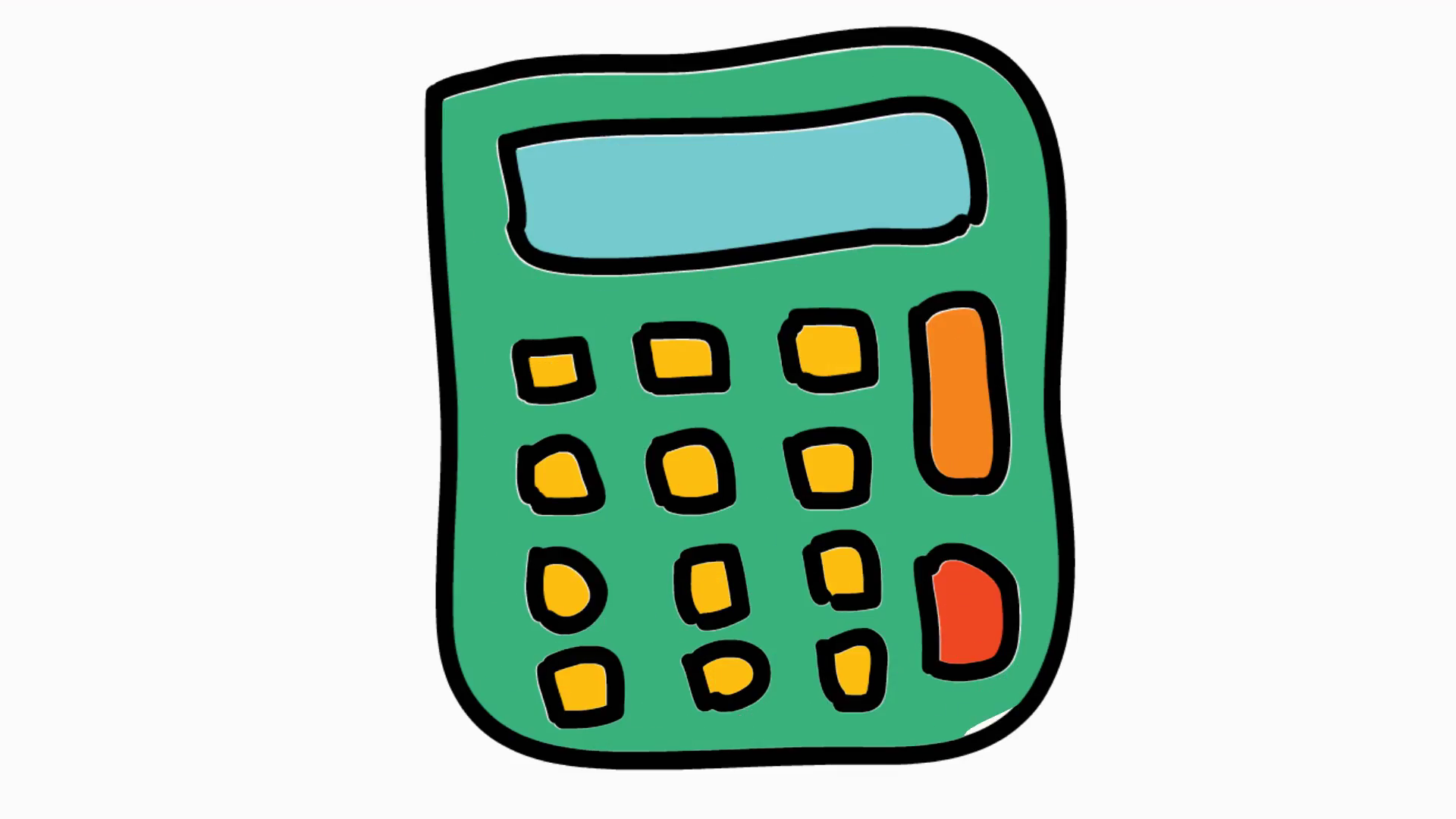 Calculator Clipart Clip Arts For Free On Transparent - Calculator Clipart  Black And White, HD Png Download - kindpng