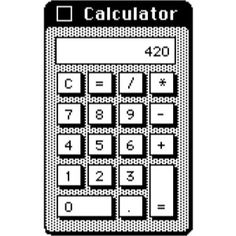 Pineapple a y e. Calculator clipart tumblr transparent