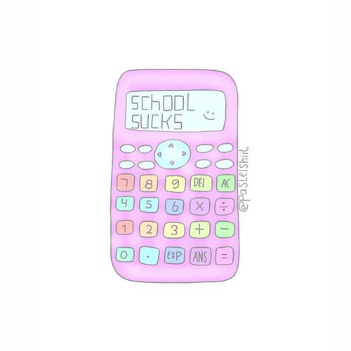 Calculator clipart tumblr transparent.  images about overlays