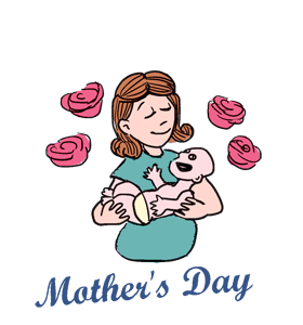 Mother s history events. Calendar clipart 7 day
