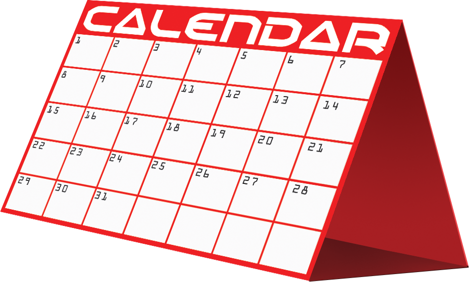Academic calendar south central. Important clipart important date