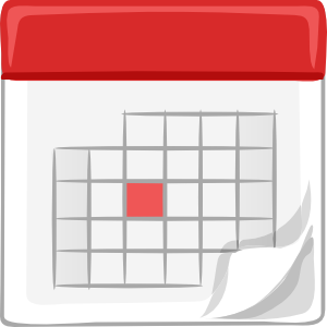 Calendar clipart animated.