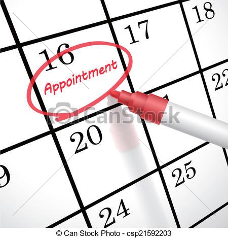 Appointment Calendar Clipart