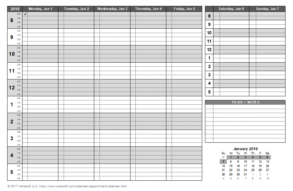 Calendar clipart appointment. Excel weekly template incep