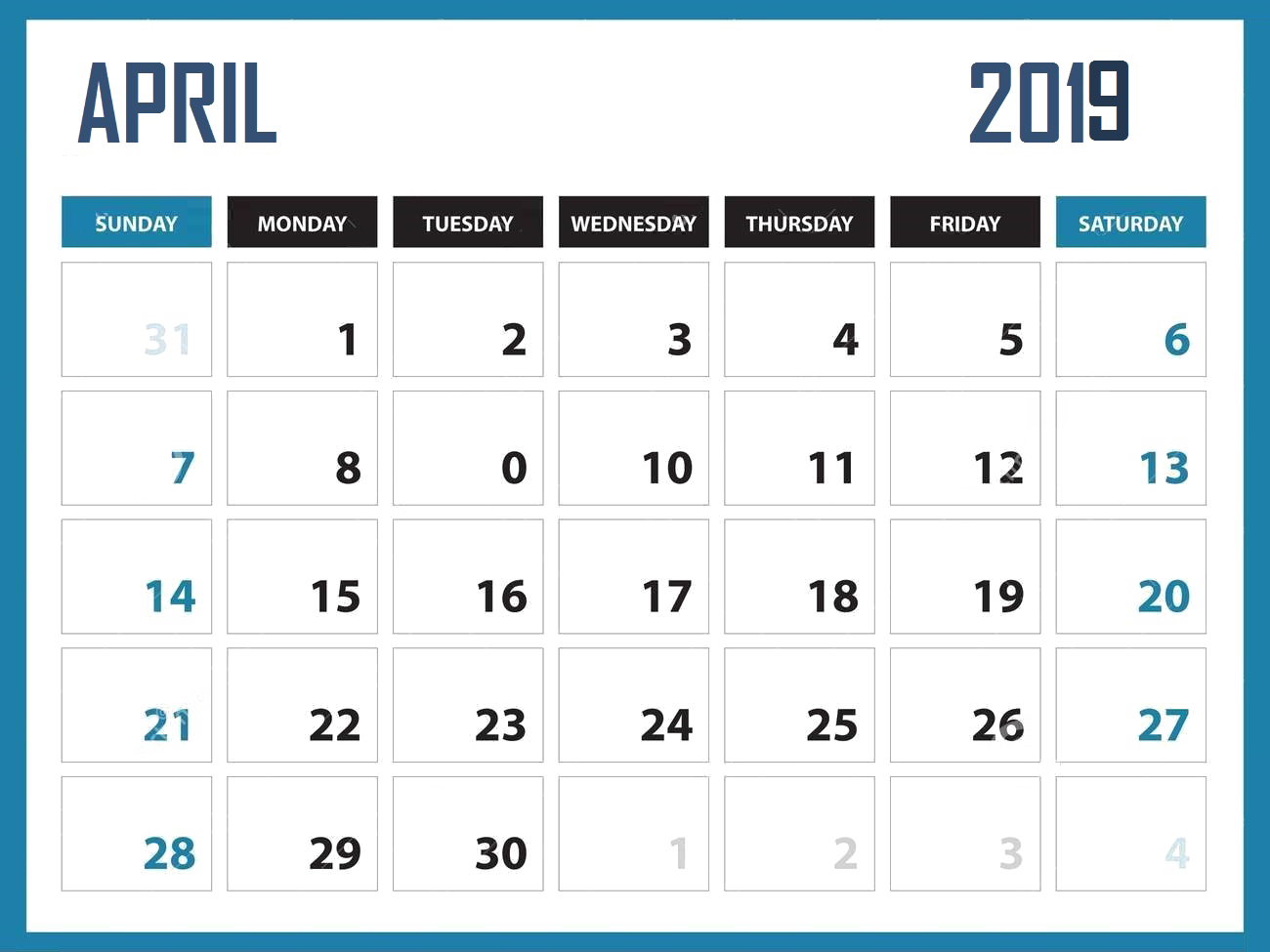 Png . Clipart calendar april
