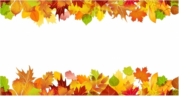 Free border vector download. Calendar clipart autumn