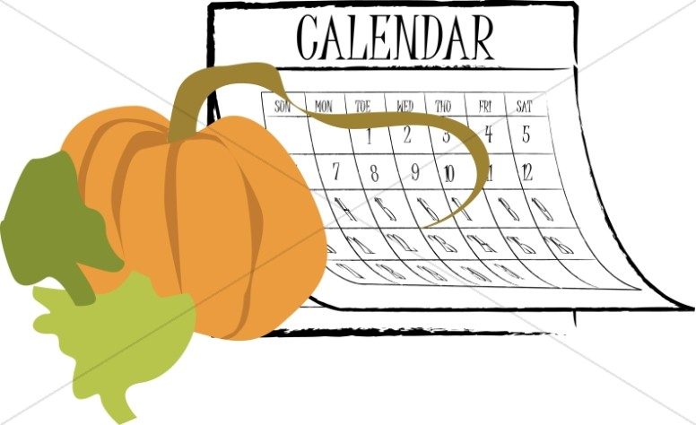 Harvest day images sharefaith. Calendar clipart autumn
