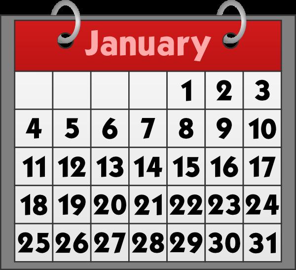 Calendar clipart calender. For calendars efficient gopages