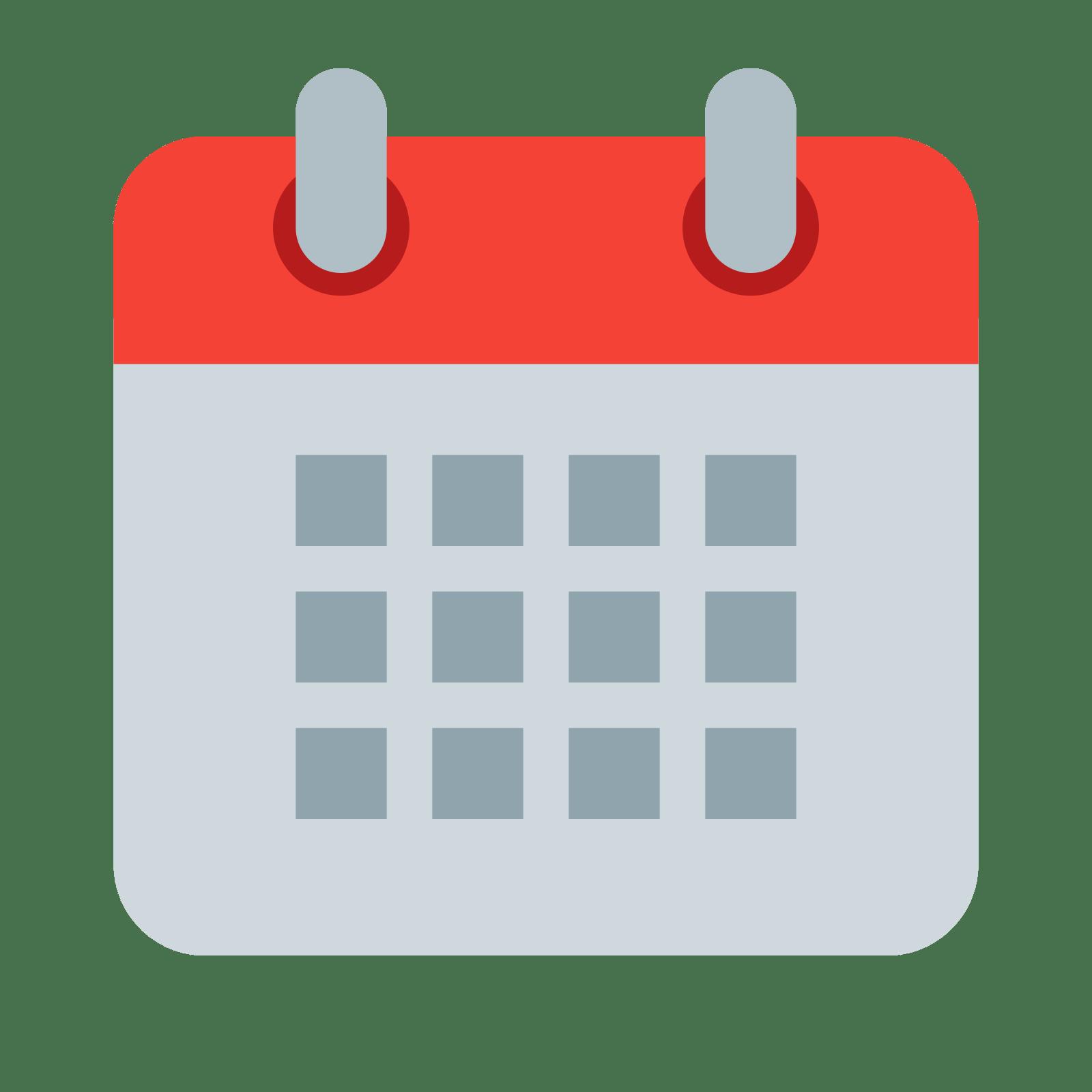 Free blank printable calendar. Schedule clipart clander