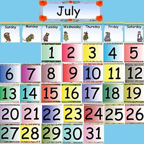 Monthly pocket . Calendar clipart chart