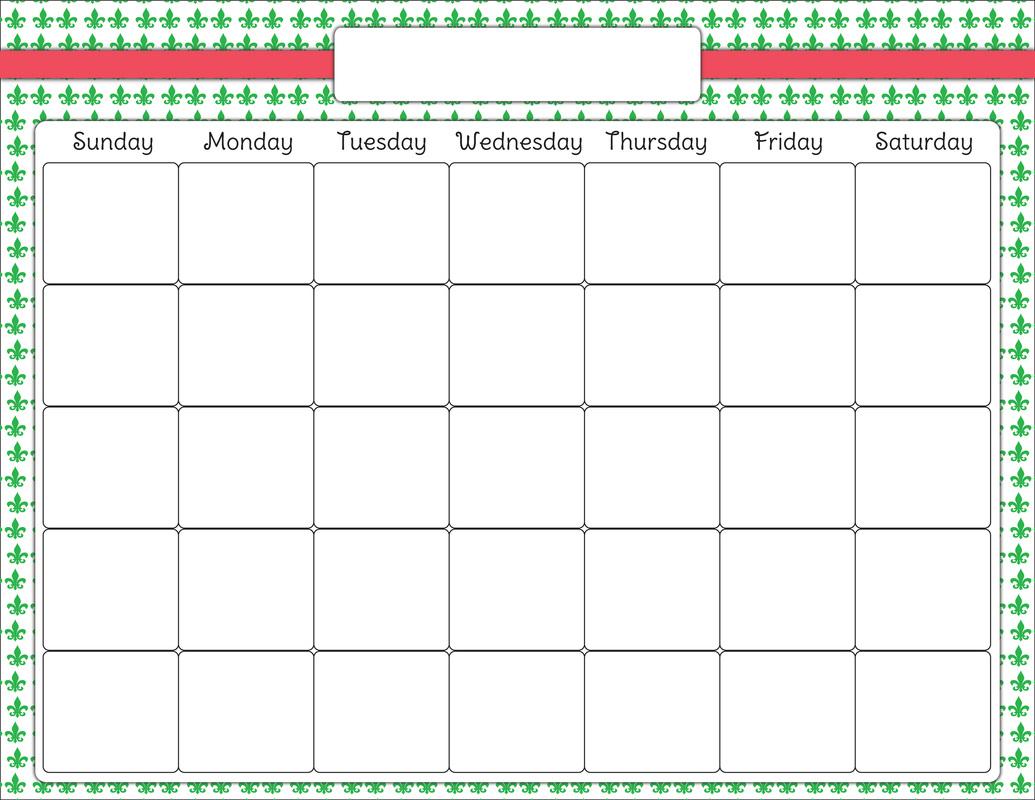 Calendar clipart chart. Blank clip art latest