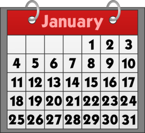 With binder rings at. Calendar clipart clip art