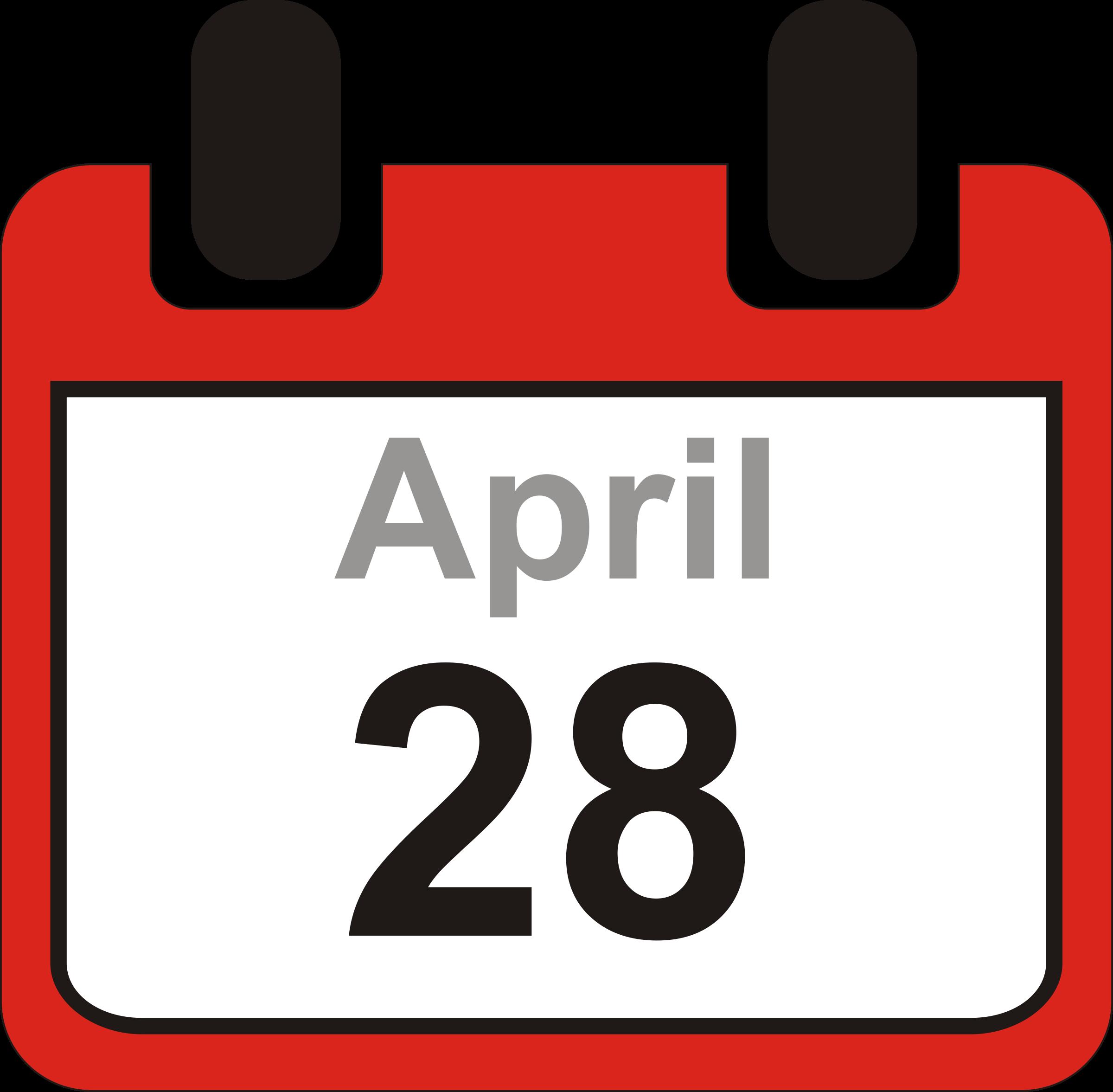 Free clip art calendar clipart