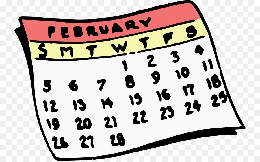 Text font transparent . Calendar clipart clip art